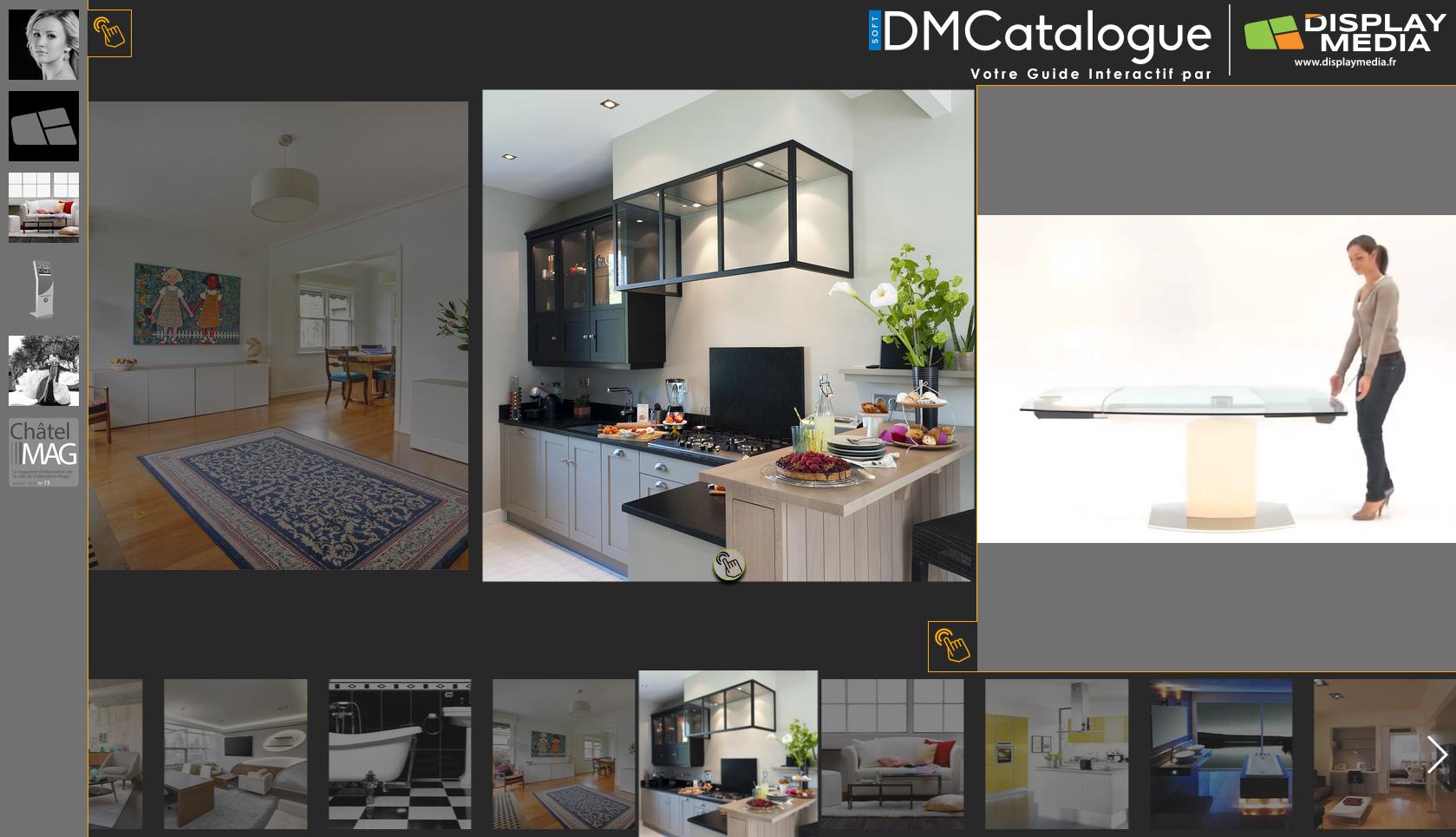 DMCatalogue - Logiciel de Création de Catalogue Interactif par Display Media
