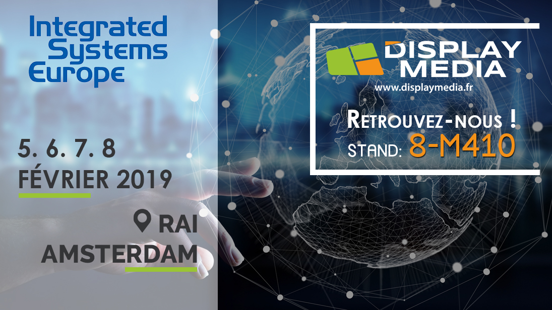 reputable site a41c4 669ad  SALON  Integrated Systems Europe 2019