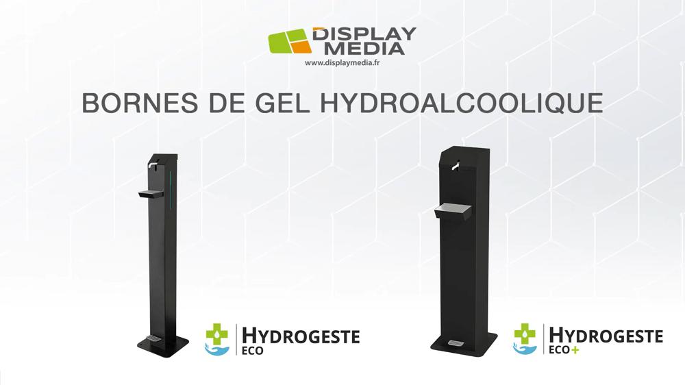 [Vidéo] Bornes Éco et Éco+, distributrice de gel hydroalcoolique